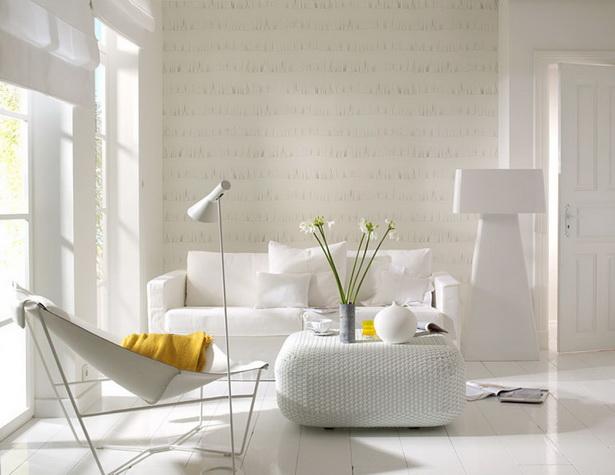 Tapeten im wohnzimmer ideen