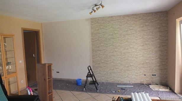 Tapezier ideen wohnzimmer