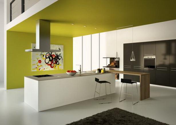 wandfarbe k che. Black Bedroom Furniture Sets. Home Design Ideas