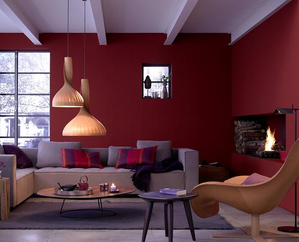 Wandfarbe Wohnzimmer Beispiele : Wandfarben Ideen Wohnzimmer Bilder #2
