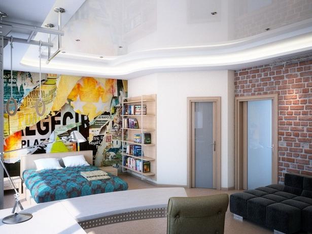 wandgestaltung jugendzimmer. Black Bedroom Furniture Sets. Home Design Ideas
