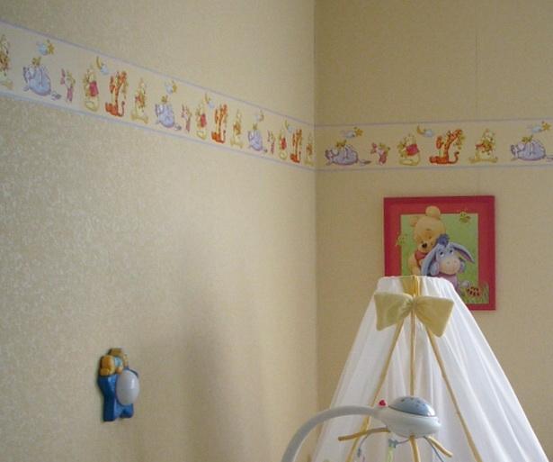 Babyzimmer Wandgestaltung wandgestaltung kinderzimmer beispiele