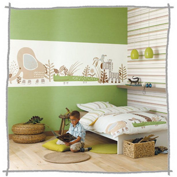 wandgestaltung kinderzimmer beispiele. Black Bedroom Furniture Sets. Home Design Ideas