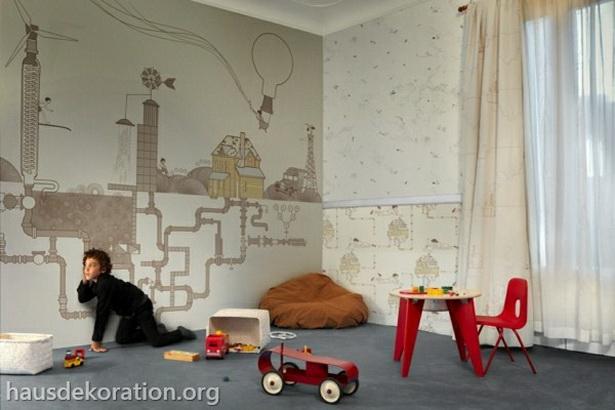 Wandgestaltung kinderzimmer junge for Wandgestaltung kinderzimmer junge