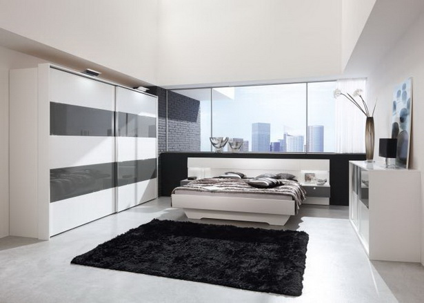 weisses schlafzimmer. Black Bedroom Furniture Sets. Home Design Ideas