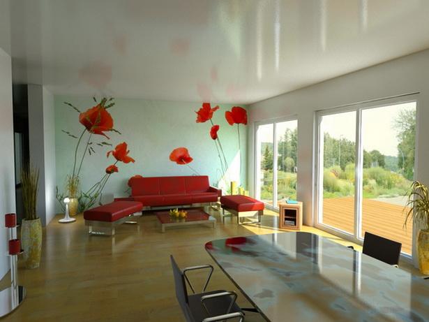 wohnzimmer idee farbe: Sofas akzentuiert wird. Vor zwei oder drei Jahren war die Farbe