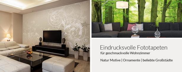 welche tapeten f rs wohnzimmer. Black Bedroom Furniture Sets. Home Design Ideas