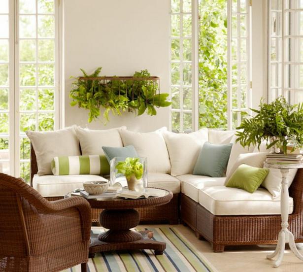 Wohnzimmer Einrichtungsvorschläge: Wintergarten Einrichtungsideen