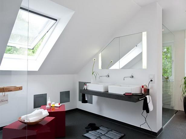Wohnen unterm dach ideen for Badideen unterm dach