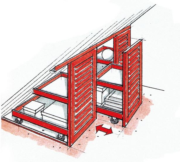 wohnen unterm dach ideen. Black Bedroom Furniture Sets. Home Design Ideas