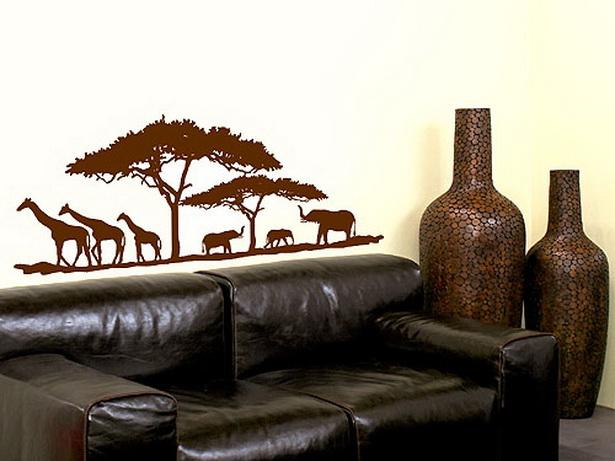 Wohnideen afrika style - Wandtattoos afrika style ...
