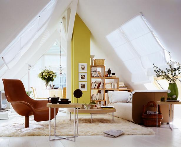 Wohnideen für dachschrägen