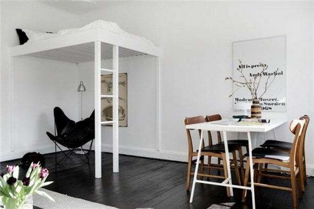 Jugendzimmer Ideen Fur Kleine Raume Mit Hochbett : einraumwohnung ...