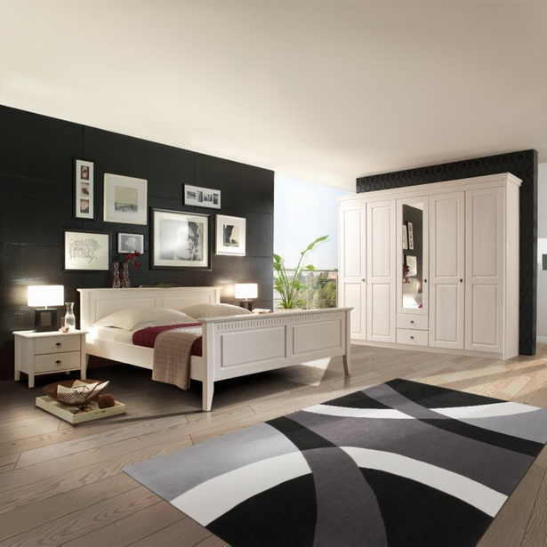 wohnideen schwarz wei. Black Bedroom Furniture Sets. Home Design Ideas