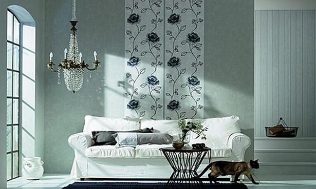 wohnideen tapete. Black Bedroom Furniture Sets. Home Design Ideas