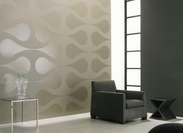 wohnideen wohnzimmer tapeten. Black Bedroom Furniture Sets. Home Design Ideas
