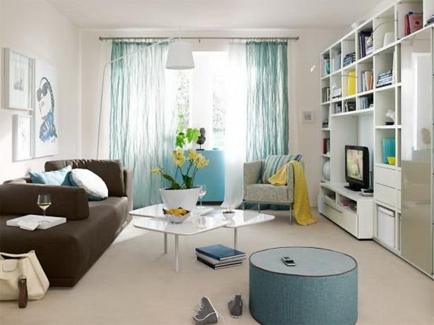 wohnung einrichten beispiele. Black Bedroom Furniture Sets. Home Design Ideas