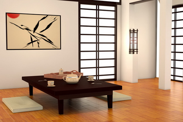 wohnung japanisch einrichten. Black Bedroom Furniture Sets. Home Design Ideas