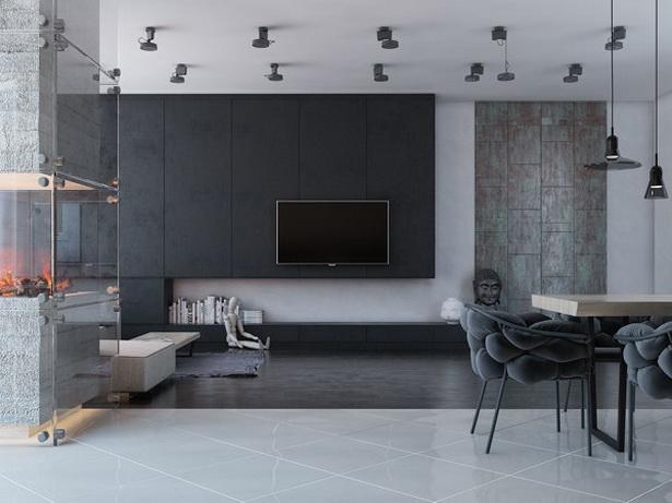 Wohnwand Farbe Gestalten : wohnwand studimo mit schwenkbarem tv wohnwände als flexible wohnwand