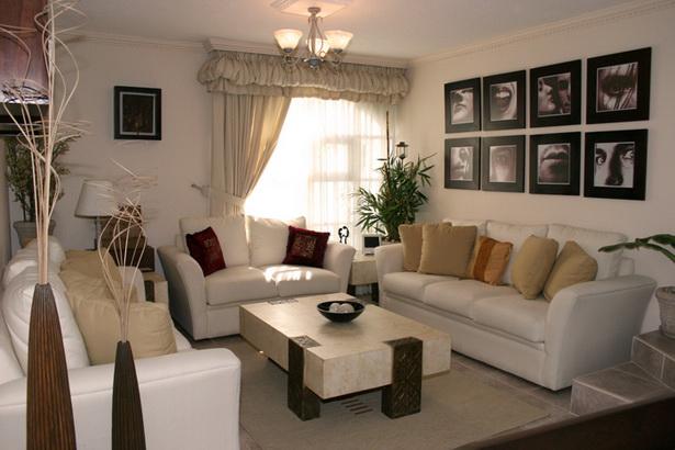 Stilvolle Wohnzimmer Sofa Kissen Deko Design