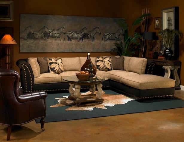 Wohnzimmer afrika style - Sofa afrika style ...