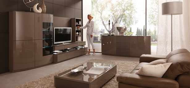 wohnzimmer braun beige. Black Bedroom Furniture Sets. Home Design Ideas