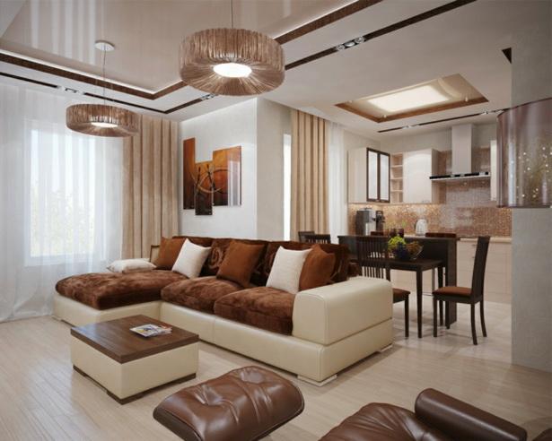 wohnzimmer einrichten braunt ne. Black Bedroom Furniture Sets. Home Design Ideas