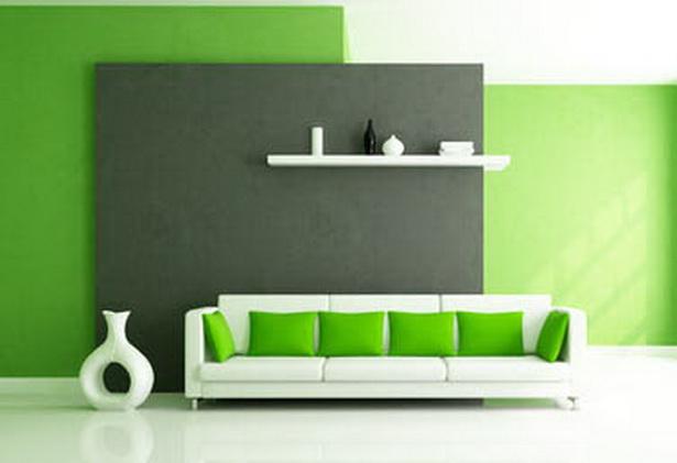 Wohnzimmer farbig gestalten