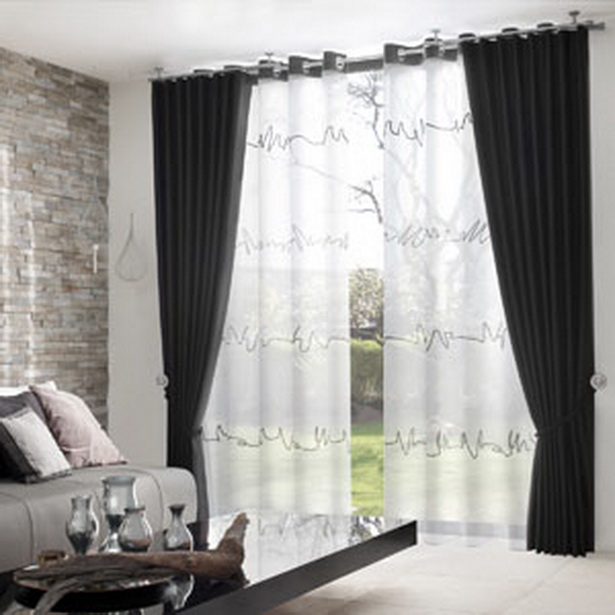 Wohnzimmer gardinen - Design gardinen wohnzimmer ...