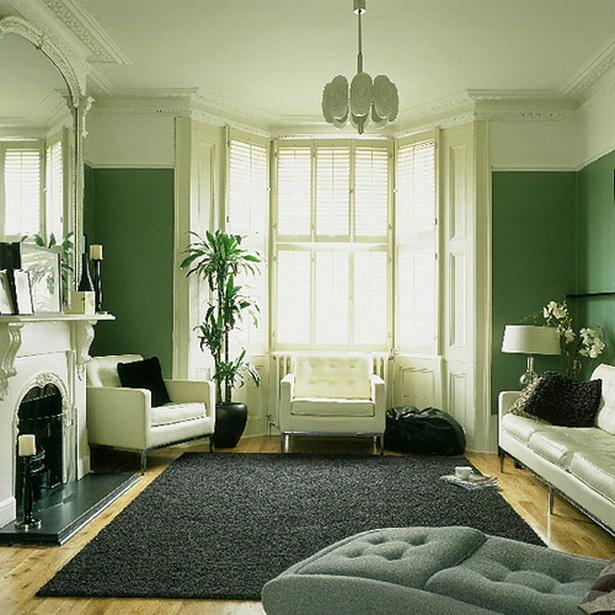 Wohnzimmer gestalten farbe