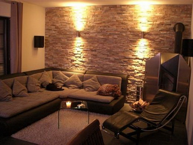 Raum Mit Tapeten Gestalten : Wandgestaltung Mit Tapeten Wohnzimmer