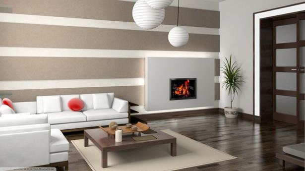 wohnzimmer ideen tapeten. Black Bedroom Furniture Sets. Home Design Ideas