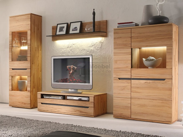 wohnw nde holz massiv modern. Black Bedroom Furniture Sets. Home Design Ideas