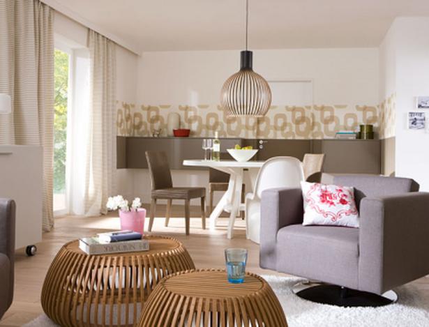 wohnzimmer mit esszimmer einrichten. Black Bedroom Furniture Sets. Home Design Ideas