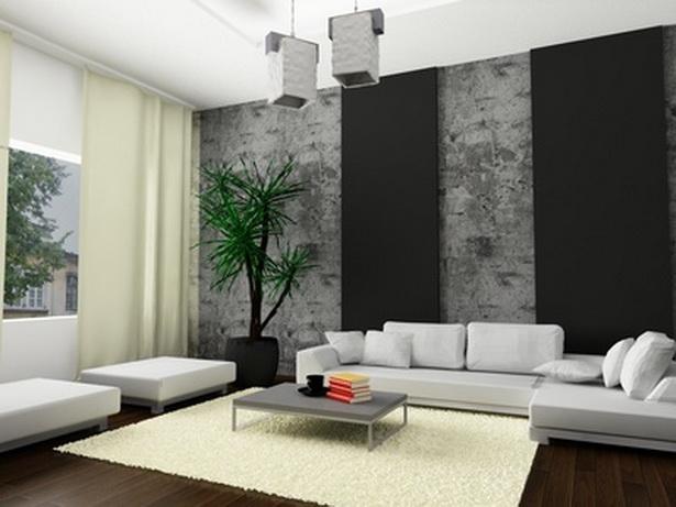 Wohnzimmer modern streichen