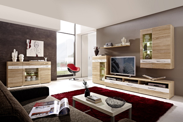 wohnzimmer modern streichen. Black Bedroom Furniture Sets. Home Design Ideas