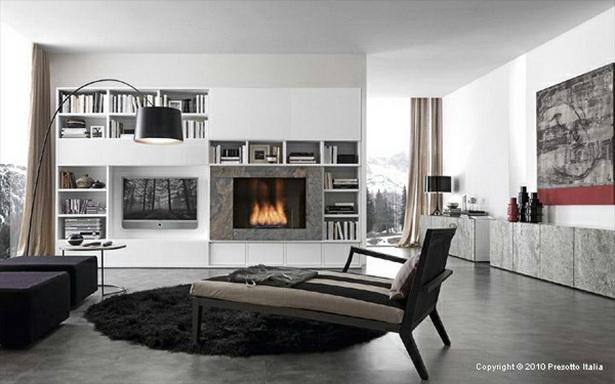 Wohnzimmer moderne einrichtung