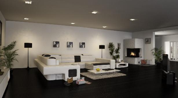 wohnzimmer moderne einrichtung. Black Bedroom Furniture Sets. Home Design Ideas
