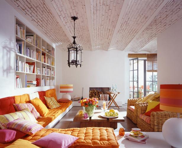 Mediterraner Wohnstil. Wohnzimmer Orientalisch Einrichten ...