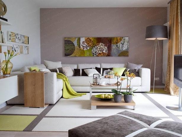 Wohnzimmer sch n gestalten - Wohnung farben ideen ...