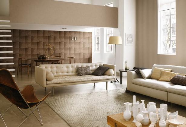 tapeten wohnzimmer braun:Wandfarben Ideen Wohnzimmer Braun-Wohnzimmer