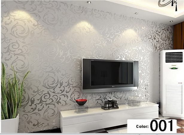 Wohnzimmer tapeten modern