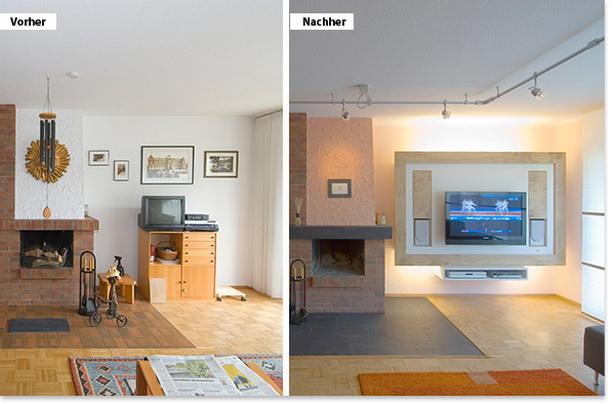 Wohnen Vorher Nachher schöner wohnen wohnzimmer vorher nachher goetics com inspiration