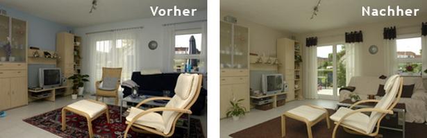 wohnzimmer vorher nachher. Black Bedroom Furniture Sets. Home Design Ideas
