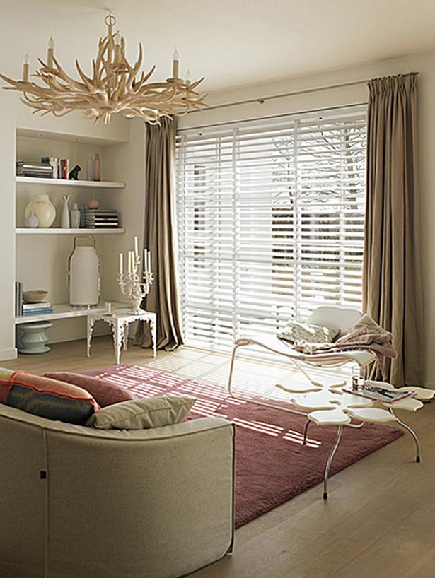 wohnzimmer vorh nge. Black Bedroom Furniture Sets. Home Design Ideas