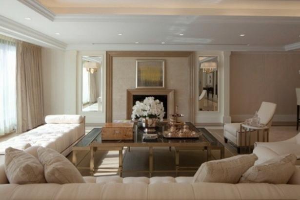 Wohnzimmer wandfarben ideen
