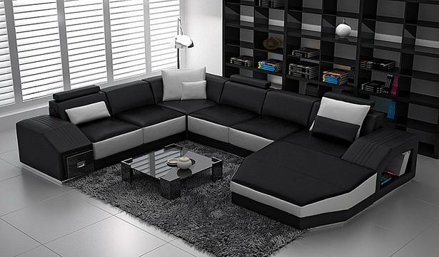 wohnzimmer wohnlandschaft. Black Bedroom Furniture Sets. Home Design Ideas
