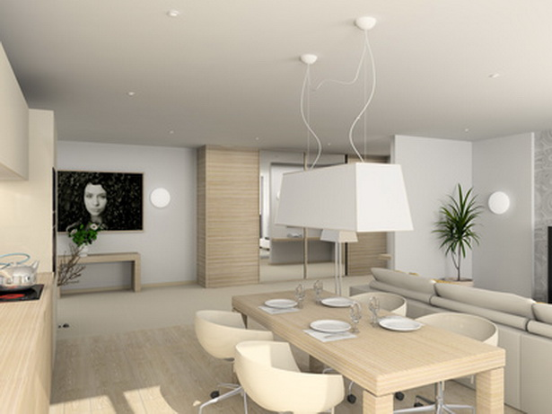wohnzimmer esszimmer in einem gestalten. Black Bedroom Furniture Sets. Home Design Ideas