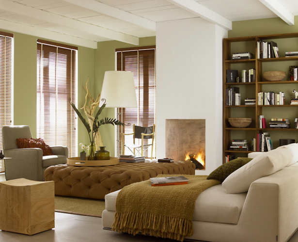 Wohnzimmergestaltung beispiele for Wohnen farbgestaltung