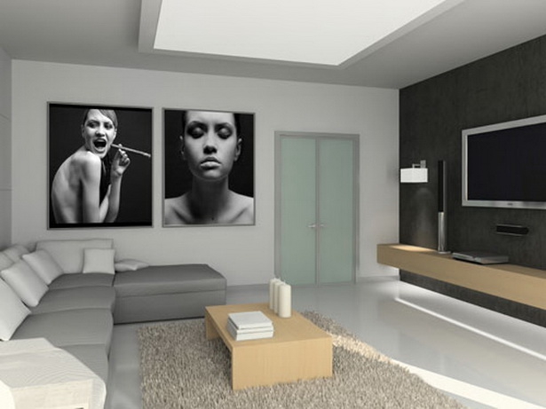 wohnzimmergestaltung beispiele. Black Bedroom Furniture Sets. Home Design Ideas